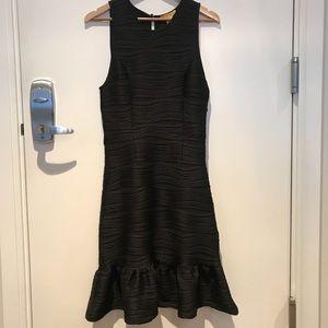 Catherine Malandrino Mermaid Hem Flounce Dress